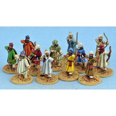Mujahid avec arcs