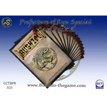 Bushido - Prefecture of Ryu Special Card Pack 2