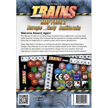 Trains - Map Pack 2 : Europe, Italy, California