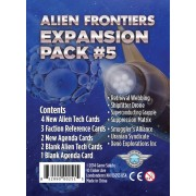Alien Frontiers : Expansion Pack 5