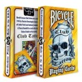Club Tattoo - Orange - jeux de 54 Cartes Bicycle 2