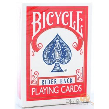 Rider Back Ultimate V2 - Rouge - Bicycle - jeux de 54 Cartes Marqué