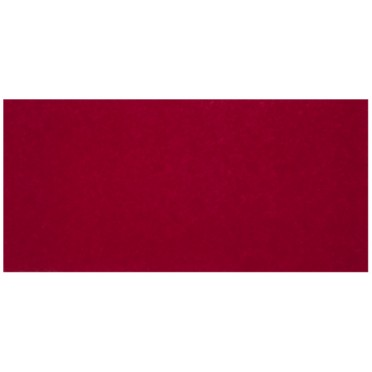 Tapis Suédine Uni Rouge