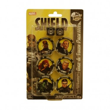 Heroclix - Agent of Shield - Dice and Token