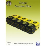 Bushido - Tengu Faction Dice
