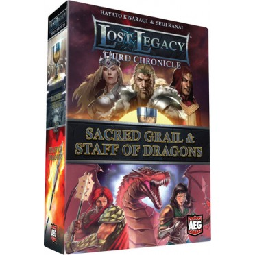 Lost Legacy : Third Chronicle - Sacred Grail & Staff of Dragons