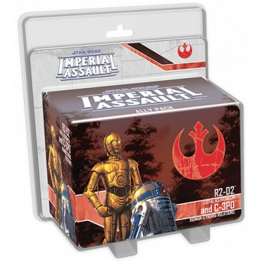 Star Wars: Imperial Assault: R2-D2 and C-3Po Ally Pack