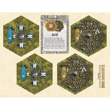Clockwork Wars: Gulag & Dynamo Hex Bonus Tiles