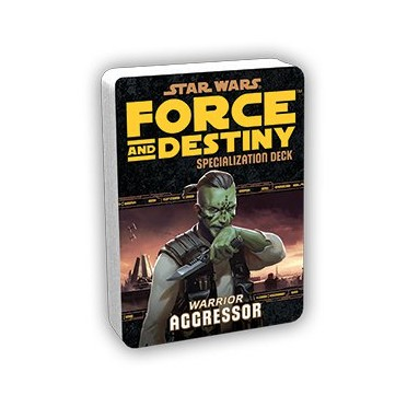 Star Wars: Force and Destiny - Agressor Specialization Deck