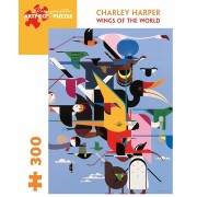 Puzzle - Wings of the world de Charley Harper - 300 Pièces