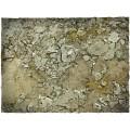 Terrain Mat PVC - Urban Wasteland - 90x90 4