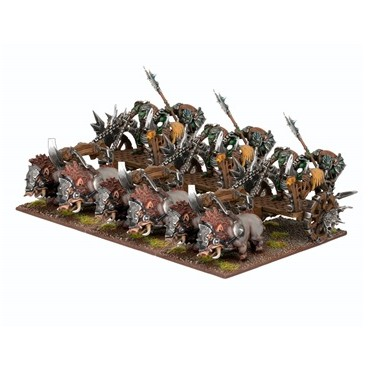 Kings of War - Orc Chariot Regiment