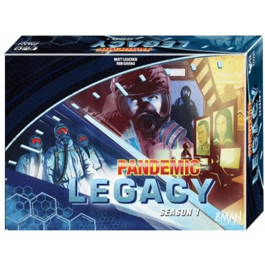 Pandemic Legacy Season 1 - Blue Edition