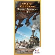 Colt Express (Anglais) - Horses & Stagecoach