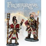 Frostgrave - Chronomancien et Apprenti pas cher