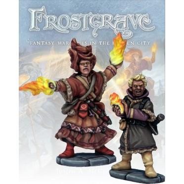 Frostgrave - Elémentaliste et Apprenti