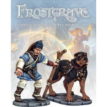 Frostgrave - Chasseur et Chien de guerre