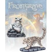 Frostgrave - Crapaud & Léopard des Glaces pas cher