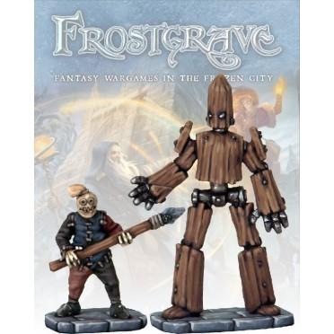 Frostgrave - Golems (petit et moyen)
