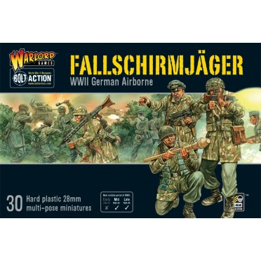 Bolt Action Fallschirmjager (plastic box)