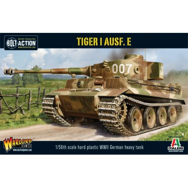 Bolt Action - German Tiger I Ausf. E heavy tank (plastic boxe)