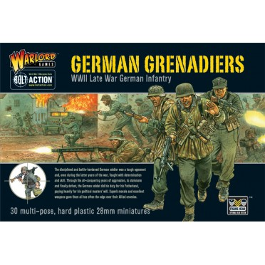 Bolt Action - German Grenadiers (plastic boxe)