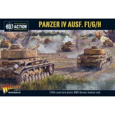 Bolt Action - German Panzer IV Ausf. F1/G/H medium tank (plastic boxe)