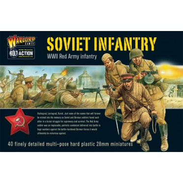 Bolt Action - Soviet Infantry (plastic boxe)