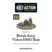 Bolt Action - British - British Army Vickers MMG Team