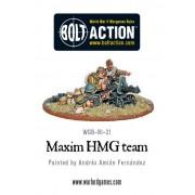 Bolt Action - Soviet Maxim HMG Team