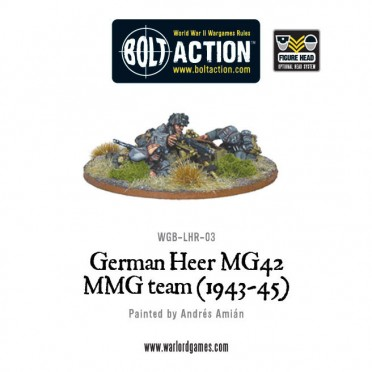 Bolt Action - German - German Heer MG42 HMG Team (1943-45)
