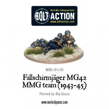 Bolt Action - German - Fallschirmjager MG42 MMG Team (1943-45)
