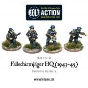 Bolt Action - German - Fallschirmjager HQ (1943-45)