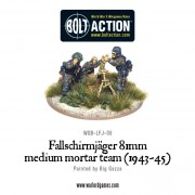 Bolt Action - German - Fallschirmjager 81mm Medium Mortar Team (1943-45)