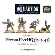 Bolt Action - German - German Army HQ (1943-45)