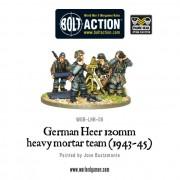 Bolt Action - German - German Heer 120mm Heavy Mortar Team (1943-45)