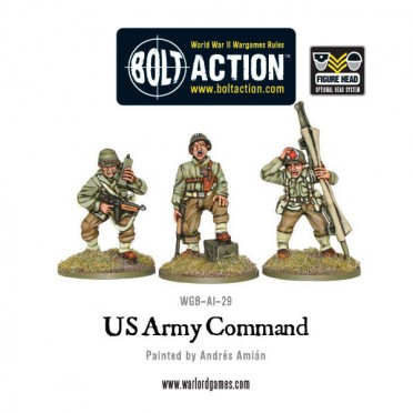 Bolt Action - US Army command