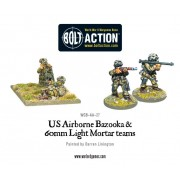 Bolt Action - US Airborne Bazooka and 60mm light mortar teams