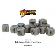 Bolt Action - Bolt Action Orders Dice packs - Grey