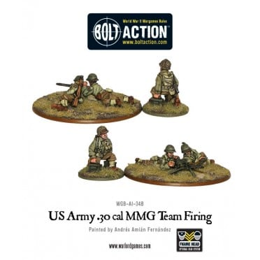 Bolt Action - US Army 30 Cal MMG team