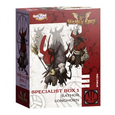 Wrath of Kings - House of Nasier : Rank 1 Specialist Box