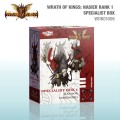 Wrath of Kings - House of Nasier : Rank 1 Specialist Box 2