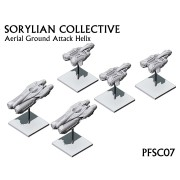 Planetfall - Sorylian Collective Aerial Ground Attack Helix