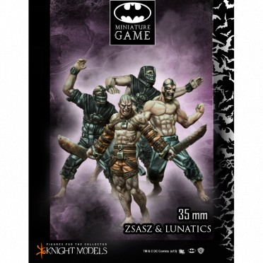 Batman - Victor Zsasz and Arkham Lunatics