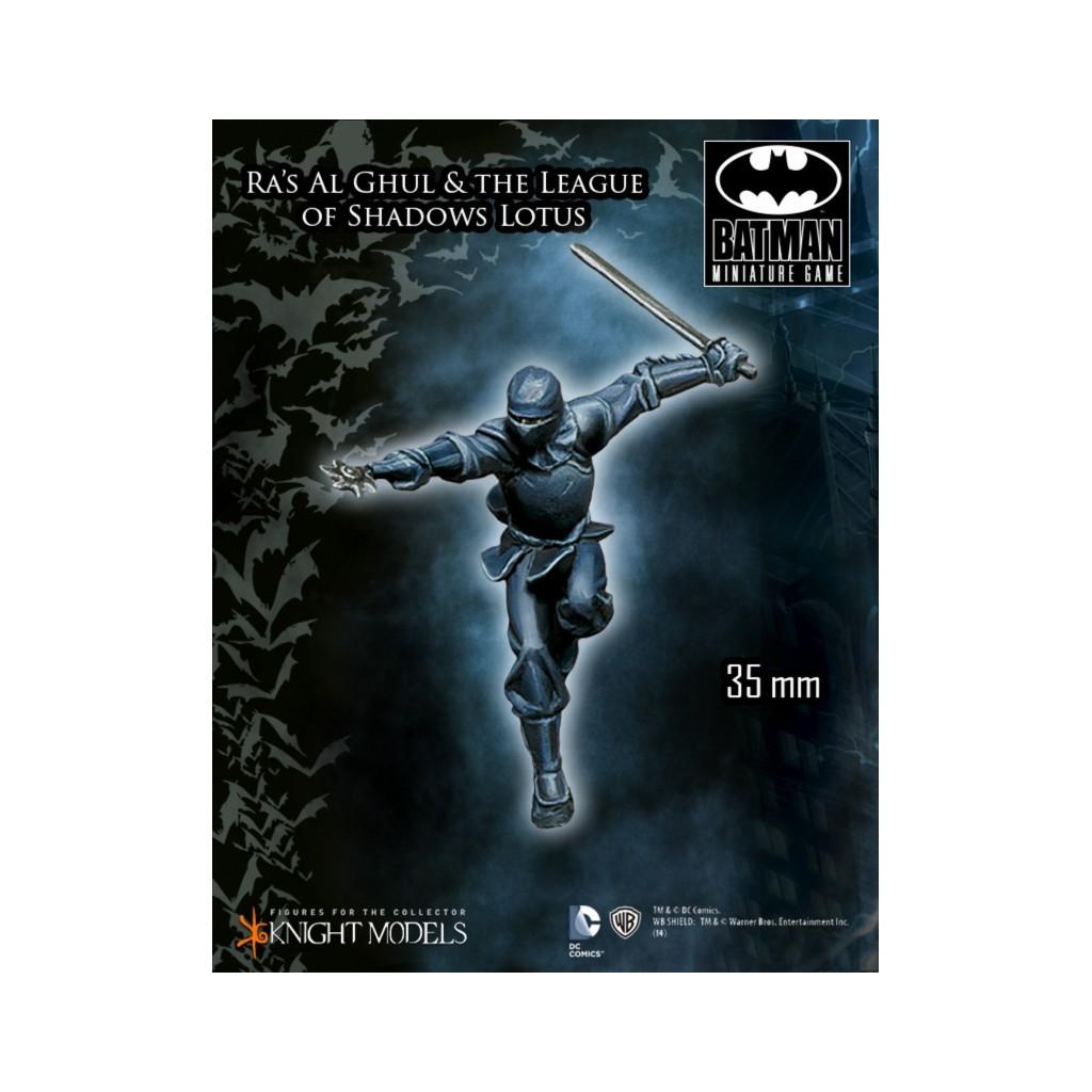 Buy batman ras al ghul and the league of shadows miniatures game batman ras al ghul and the league of shadows 2 buycottarizona