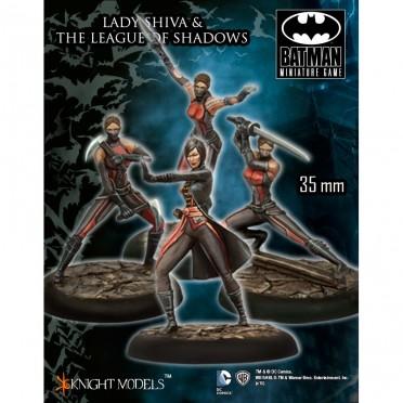 Batman - Lady Shiva and League of Shadows