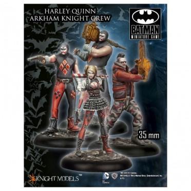 Batman - Harley Quinn Crew (Arkham Knight)