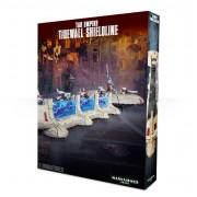 W40K : Décors - Tau Empire Tidewall Shieldline