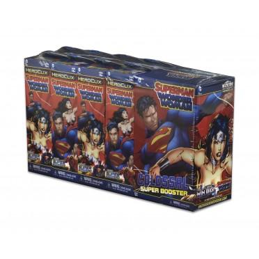 Heroclix - Brick de 9 Boosters : Superman Wonder Woman