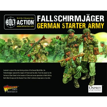 Bolt Action - Fallschirmjager Starter Set
